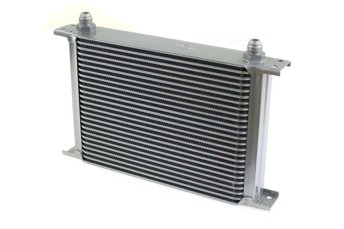 Chłodnica Oleju TurboWorks 30-rzędowa 260x235x50 AN8 silver - GRUBYGARAGE - Sklep Tuningowy